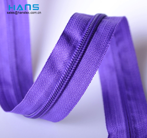 Hans Custom Promoción Color Zipper por The Yard Wholesale