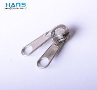 Hans Most Popular Economy High Standard Doble Slider Zipper