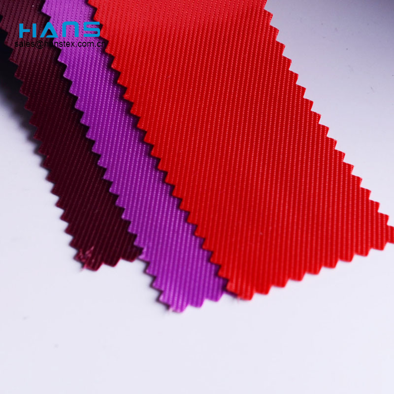 Hans New Design Product Cool 420d PVC Coat poliéster tejido
