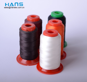Hans Eco Friendly Buena solidez del color Hilo de nailon unido