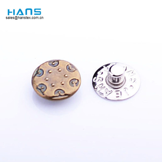 Hans Best Selling Fashion Jeans Button Rivet
